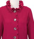 Gracefully Ruffled Jacket