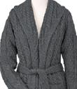 Belted Aran Cardigan