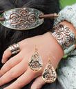 Sun Spiral Jewelry