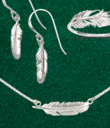 Tiny Feather Jewelry