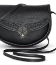 Celtic Leather Shoulder Bag