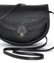 Celtic Leather Shoulder Bag