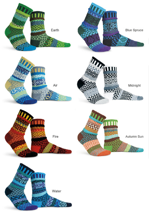 Mixed-Up Socks
