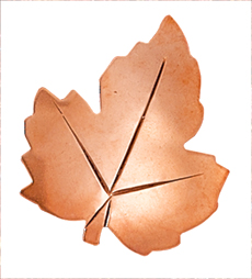 Metal Leaf Pin