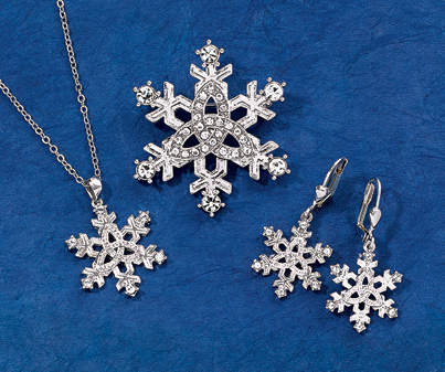 Trinity Knot Snowflake Jewelry