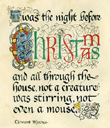 Night Before Christmas Plaque