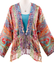 Exotic Short Jacket with Fringe