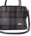 Tweed Satchel
