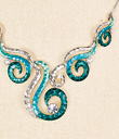 Swirling Sea Earrings