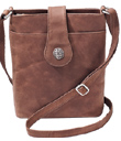 Nubuck Cross-Body Bag