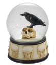 Raven Water Globe