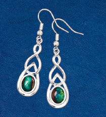 Evergreen Heathergems Earrings