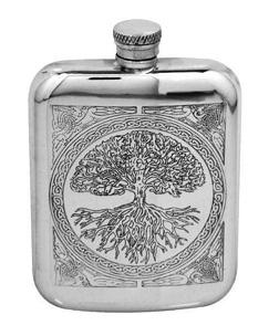 Tree of Life Purse Flask