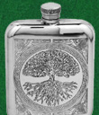 Tree of Life Purse Flask