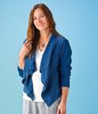 Flyaway Linen Jacket