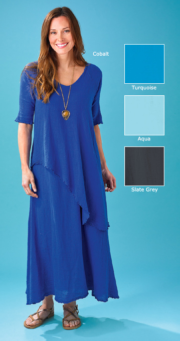 Elemental Gauze Dress