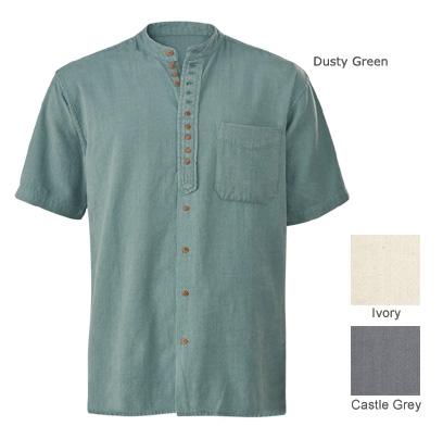 Short-sleeved Men's Shirt