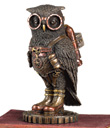 Six-Inch Steampunk Owl with Jetpack - Steampunk Owl with Jetpack
