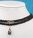 Two-Strand Black Choker