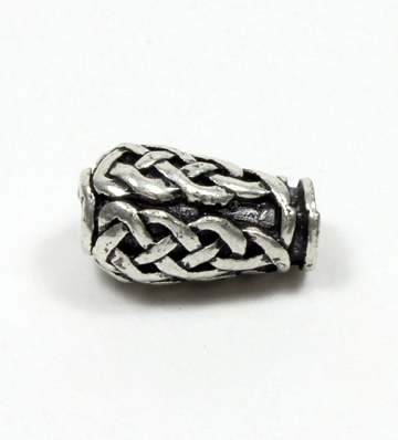 Pewter Urn Celtic Knot Bead