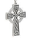 Oxidized Celtic Cross Pendant