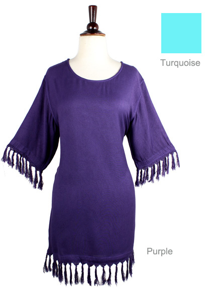 Tunic Fringe Top