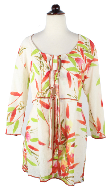 Floral Print Coverup