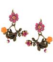 Bee on Flower Earrings