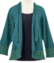 Knotwork Trim Jacket