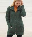 Multi-Pattern Buttoned Cardigan
