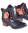 Velvet Roses Boots