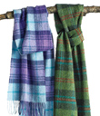 Plaid Lambswool Scarves