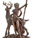 Moon Diana with Stag