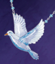 Enameled Dove Jewelry