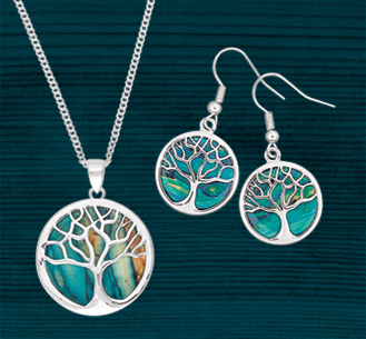 Heathergems Tree of Life Jewelry