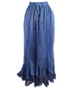 Embroidered Ruffled Skirt