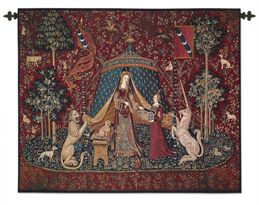 The Lady and The Unicorn Wallhanging