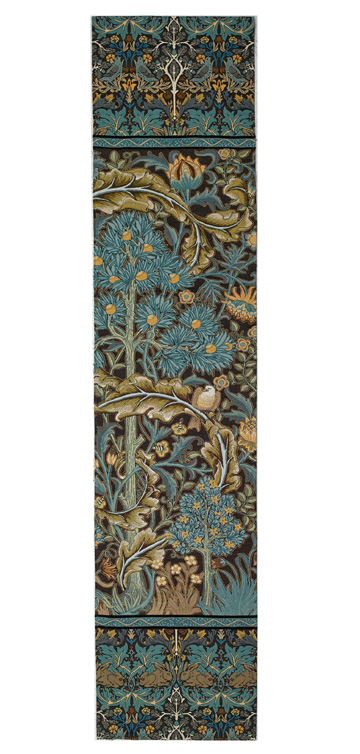 In the Blue Wood Wallhanging - Dove