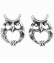 Owl Heart Studs