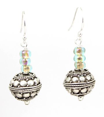 Czech Glass Earrings