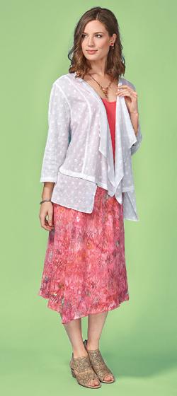 Blossoms Jacket & Skirt