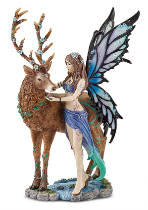 Fairy with Stag