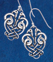 Cranes Knotwork Earrings
