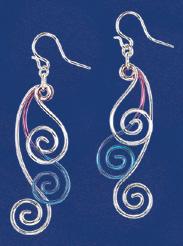 Three Spirals Earrings