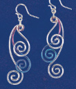 Three Spirals Earrings