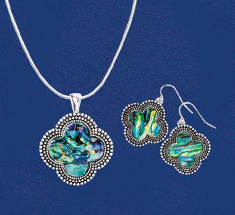 Shell Quatrefoil Jewelry