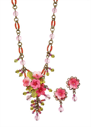 Pink Blossoms Jewelry