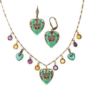 Green Heart Jewelry