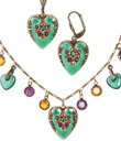 Green Heart Jewelry