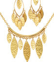 Golden Leaves Jewelry